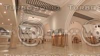 mosque interior 3D
