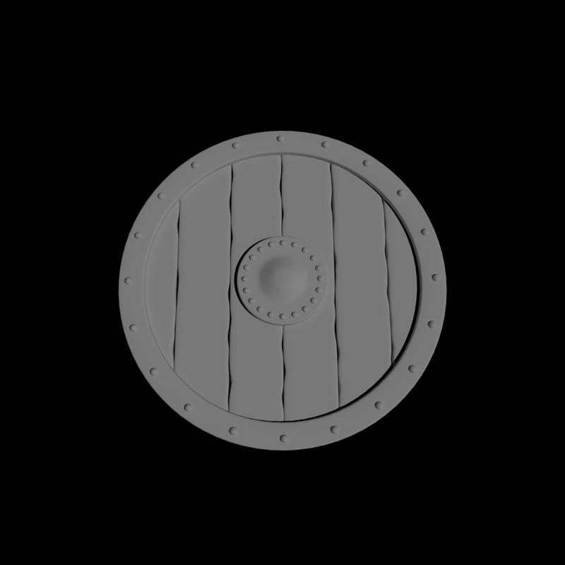 viking shield model