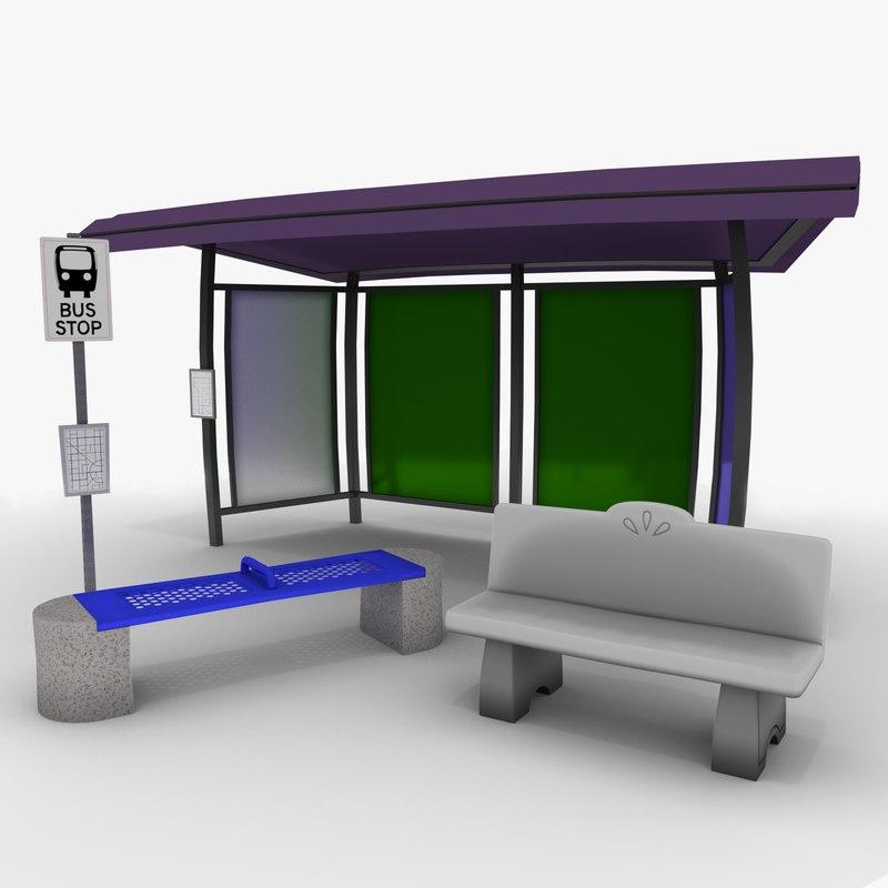 bus grimtoon stop model
