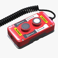 3D remote control 2 buttons model