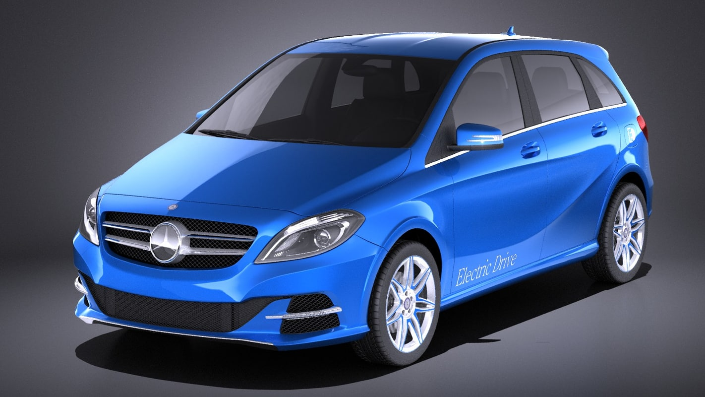 3D electric 2016 mercedes