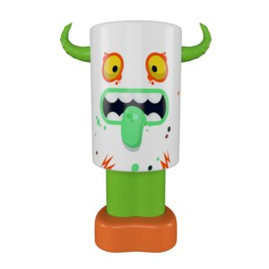 toy art monster 3D