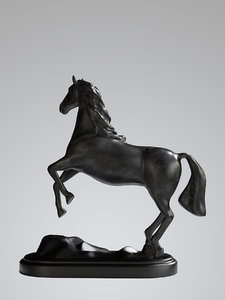 statue horse model