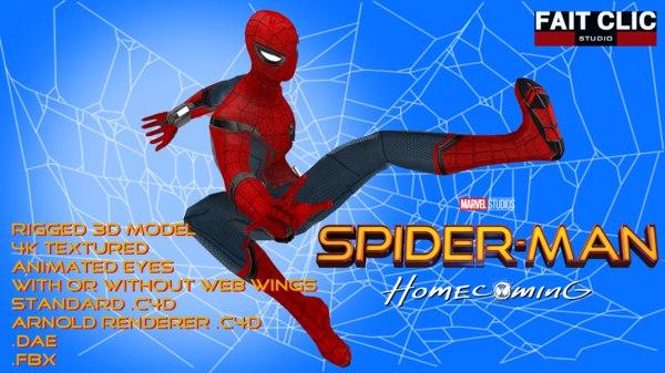Spider-Man Franchise 3D Models for Download | TurboSquid