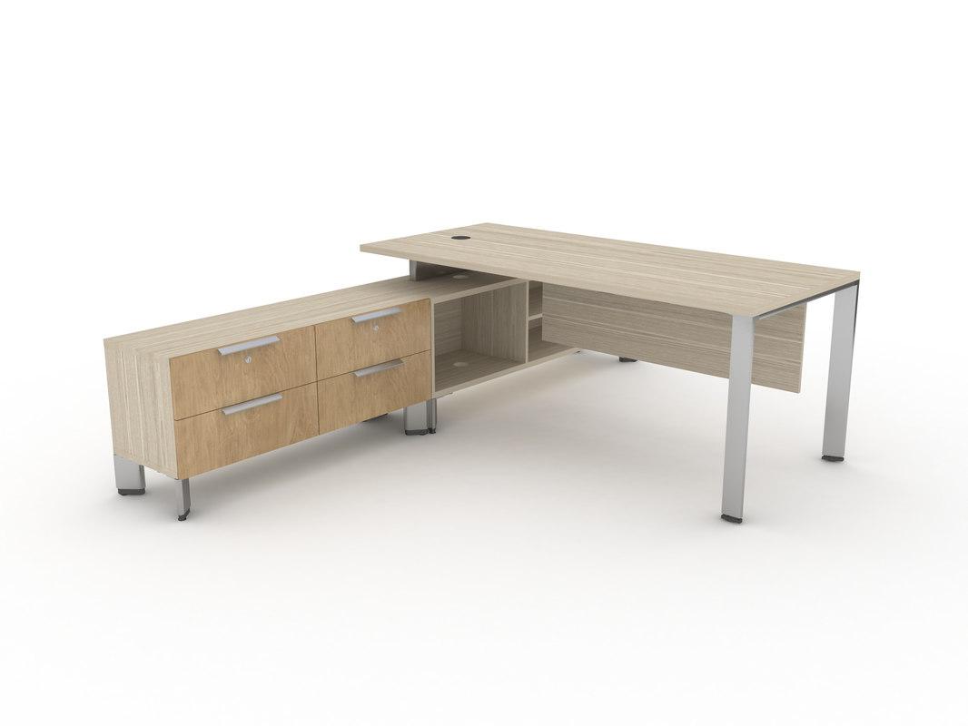 desk table 3D
