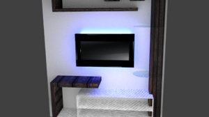 3D tv case