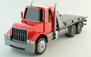 tow truck polys model