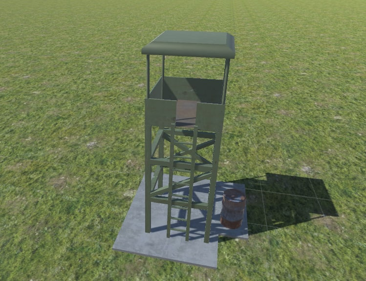 3D tower