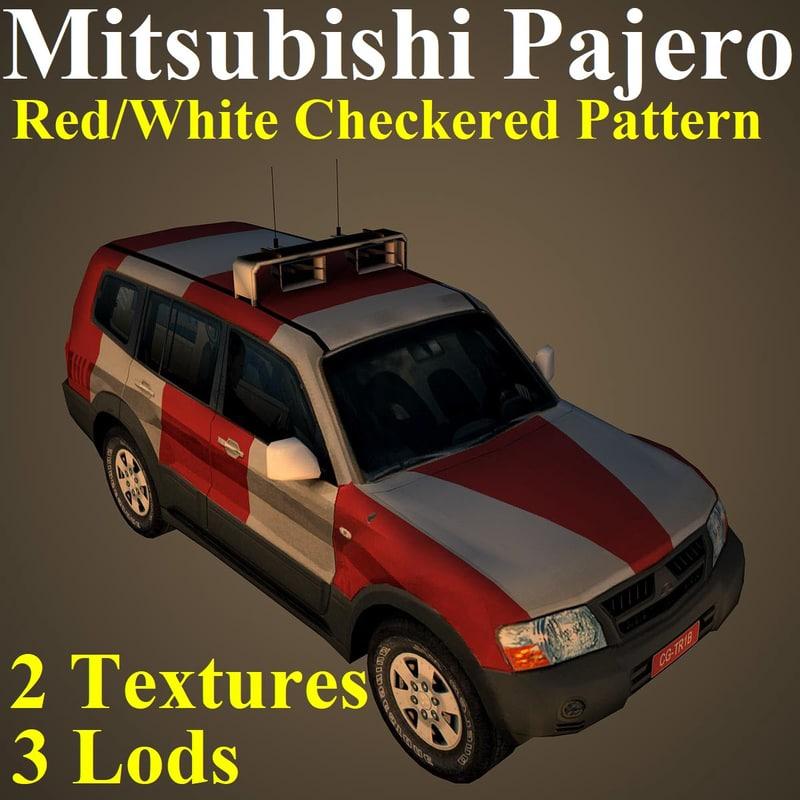 mitsubishi pajero chk model