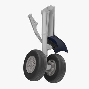 boeing landing gear 3D model