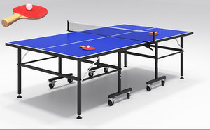 3D ping pong table