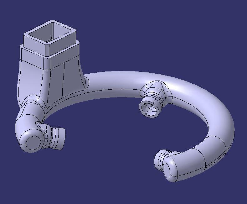 blowing printer 3D