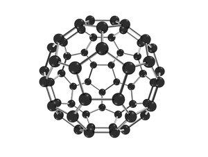 carbon fulleren model