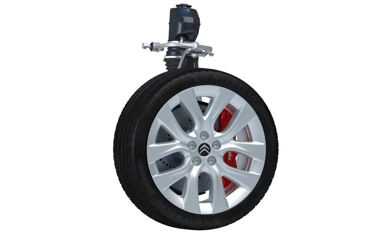 wheel parts 3D model