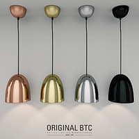 btc stanley pendant light 3D