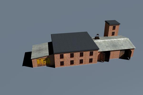 old station 3D model