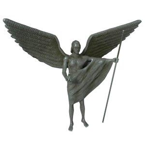 3D angel statue 4 model