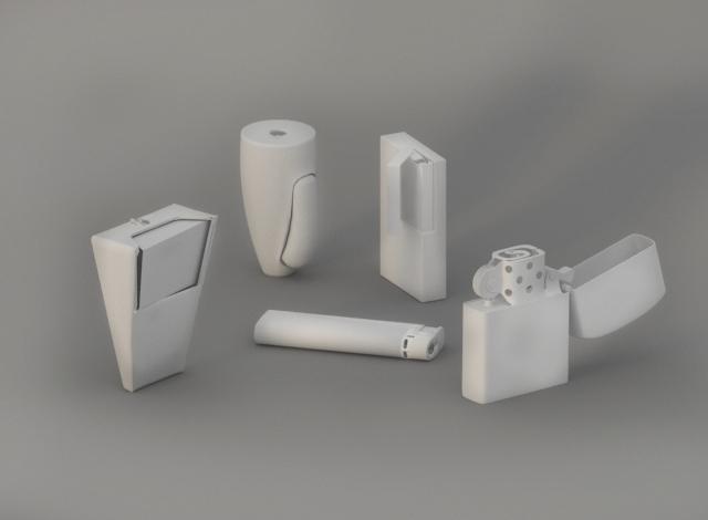 basic lighters 3D