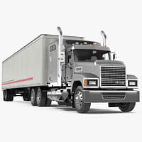 Trailer Truck Mack CHU613