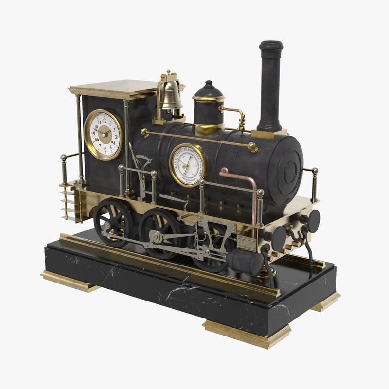 locomotive clock model
