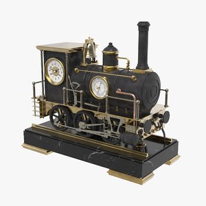 locomotive clock model