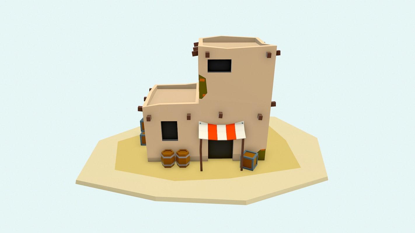 3D arabic house