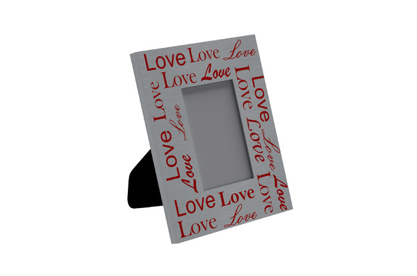3D love photo frame