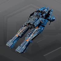 3D sf dreadnought 2b model