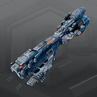3D model sf dreadnought 2d
