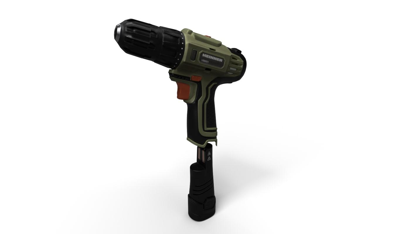 screwdriver drill 3D