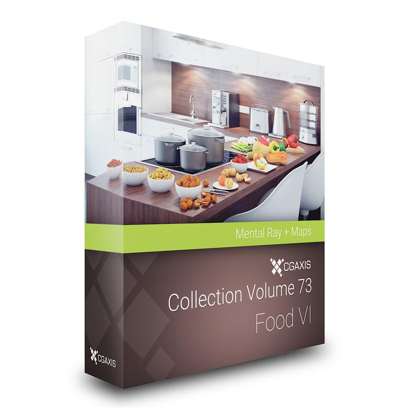 3D volume 73 food vi
