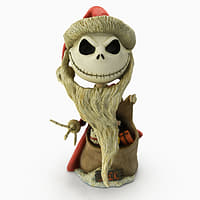 jack skellington santa 3D