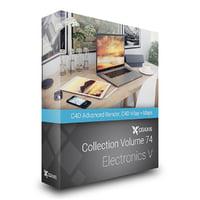 3D volume 74 electronics v model