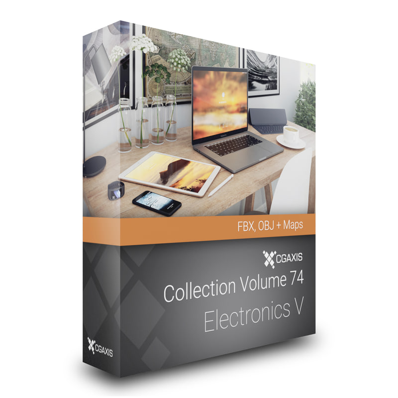 volume 74 electronics v 3D model