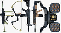 bonus pack scar gun 3D