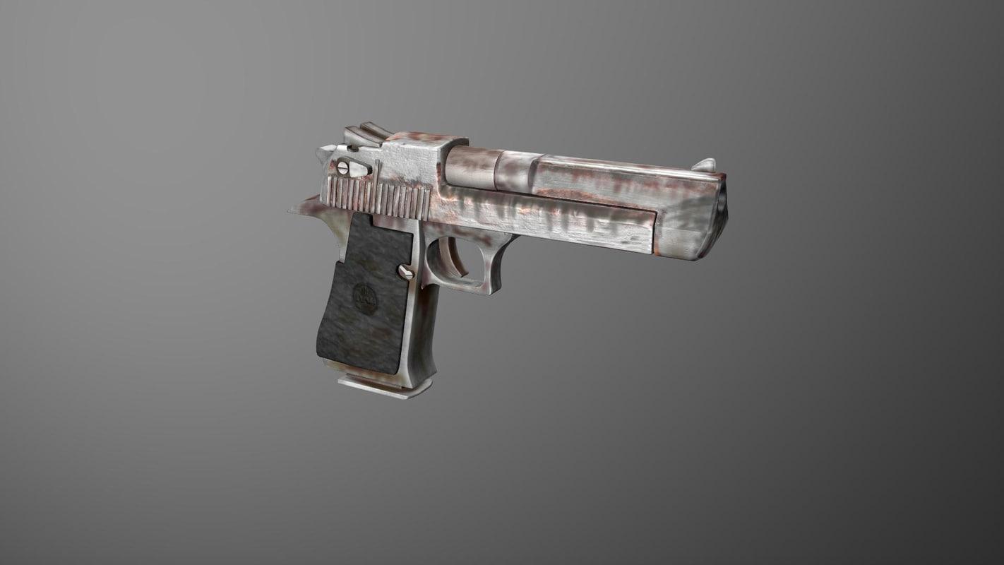 3D model deagle 44