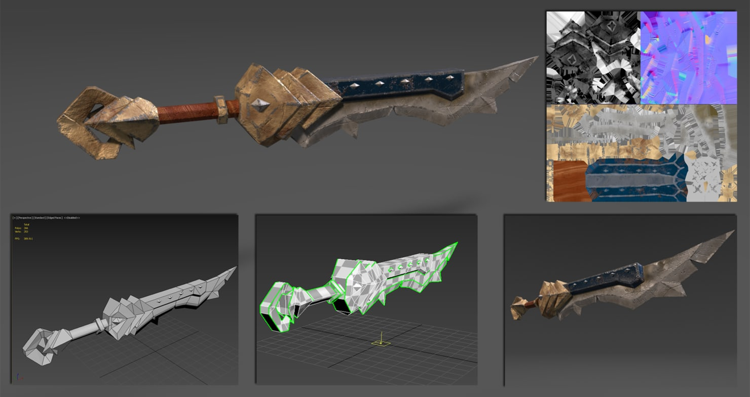 3D sword
