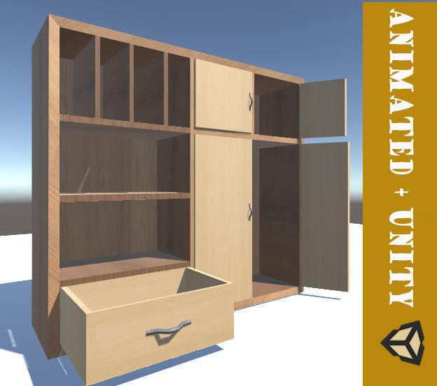 closet games unity 3D model