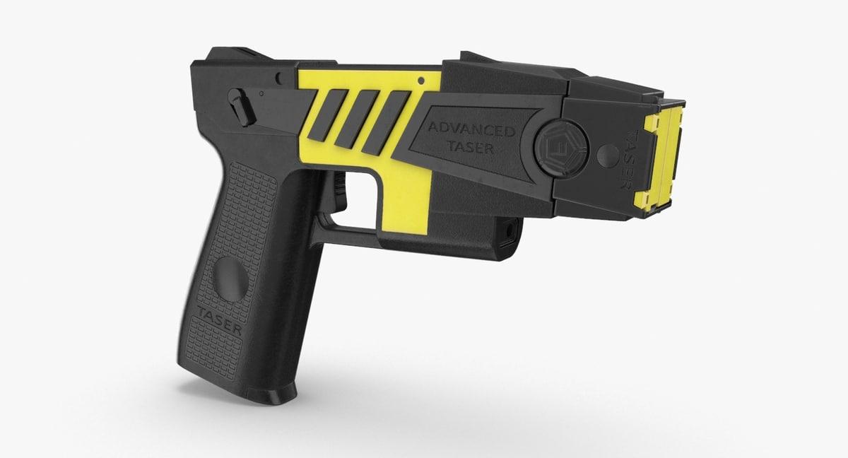 taser 3D model