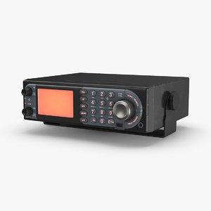 police-radio---blank model