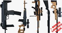 weapons bonus pack shot gun 3D