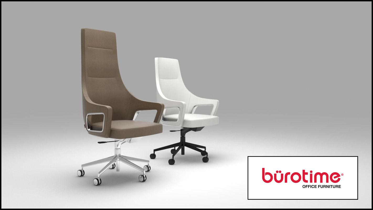 3D burotime magnate office chair
