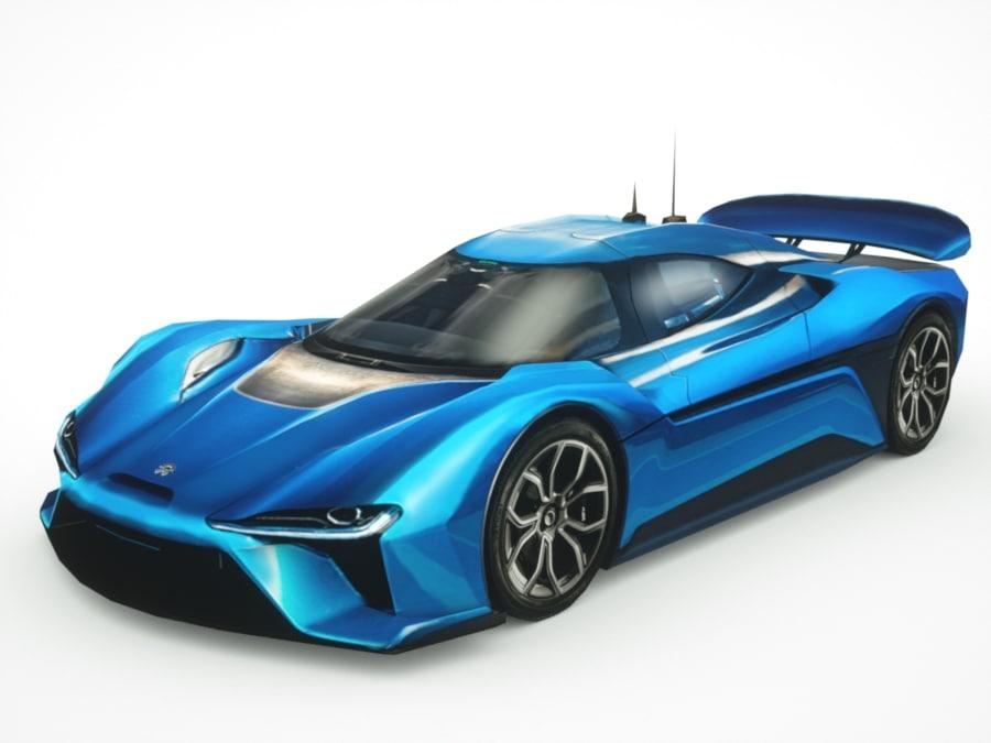 3D model 2018 lucid air