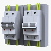3D electrical switche model