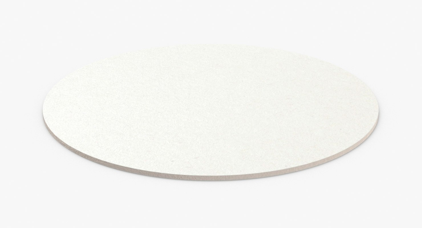 paper-coasters---round-single 3D model