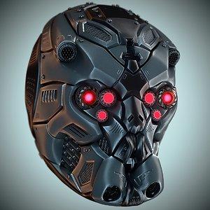 helmet hd 3D