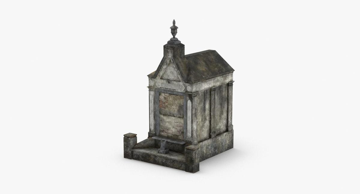 3D stone-tombs----tomb-02