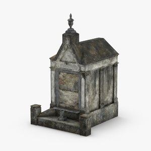 3D stone-tombs----tomb-02