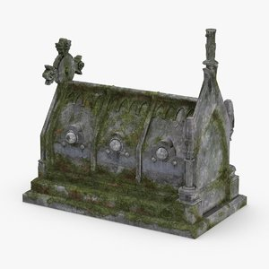 stone-tombs----tomb-03 3D model