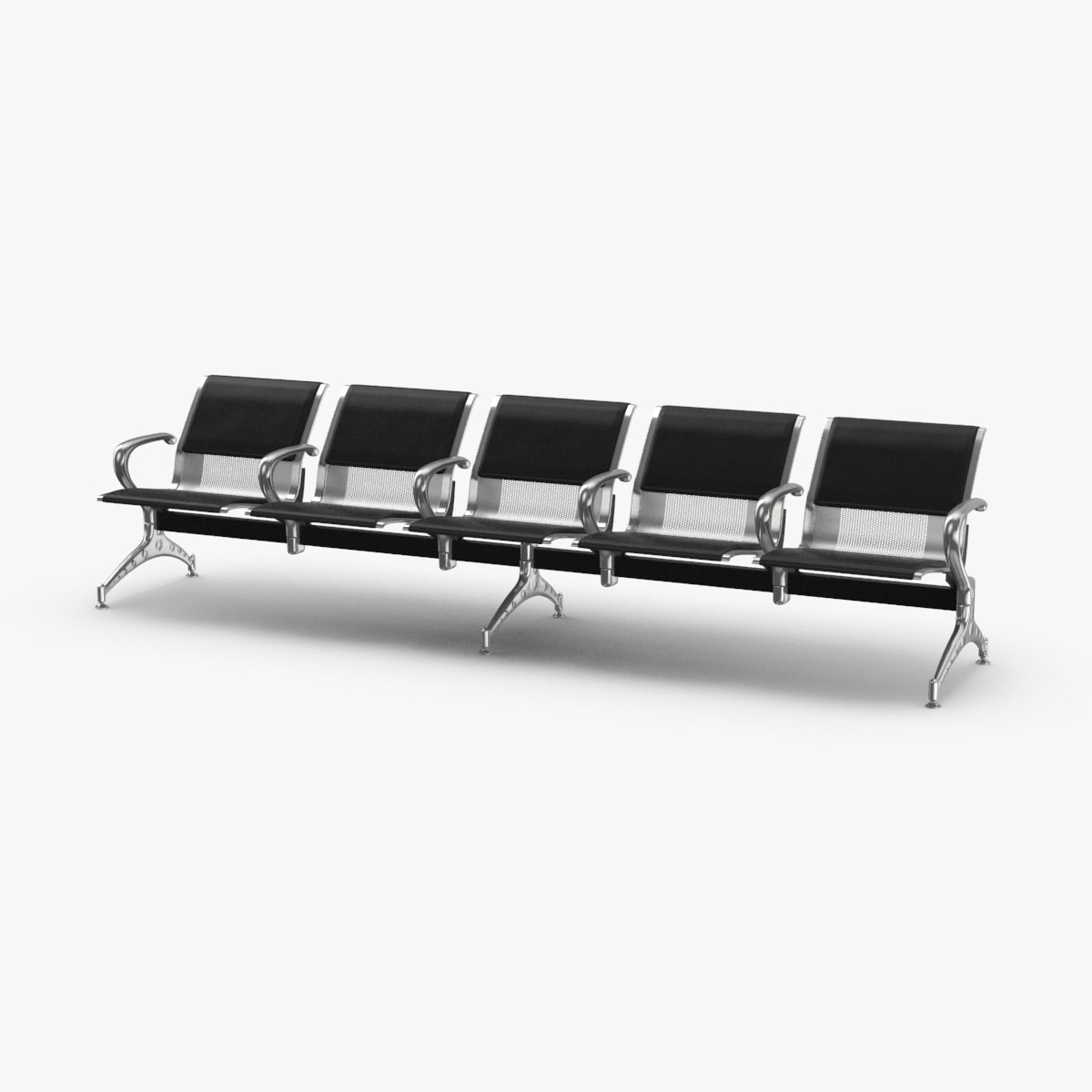 airport-row-of-chairs-01 model